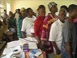 Cameroon, Bakonkoue/Bibodi, Sanaga Valley: Bednet Distributions