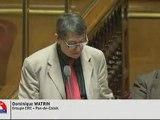 Question au gouvernement Dominique Watrin 14-02-12