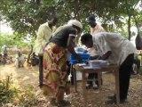 Zambia, Maround, Mbala: Bednet Distributions