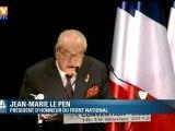 Petit cours de pédagogie de Jean-Marie Le Pen à destination des militants du FN
