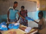Zambia, Luembe, Nyimba District: Bednet distributions