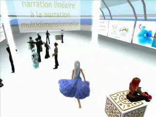 De la narration linéaire à la narration multidimensionnelle [introduction au LIVRE Quantique] une exposition / conférence de Anne ASTIER