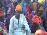 Gambia, Barrow Kunda: Bednet distribution
