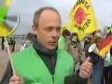 Strasbourg : Greenpeace anime une fresque humaine