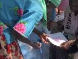 Uganda, West Nile, Maracha-Terego District: Bednet distribution