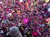 Carnaval de Dunkerque 2012 : le jet de harengs (2)