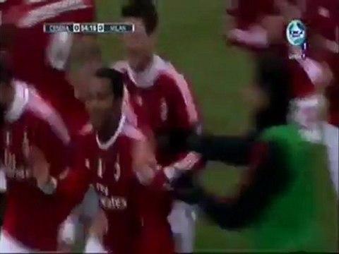 Cesena  1 - 3  AC Milan  3 Goals & Highlights