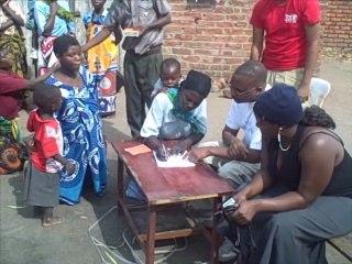 Malawi, Mulanje, Mulomba and Kambenje: Bednet distribution