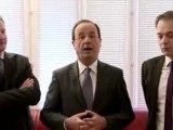 Francois Hollande s'adresse aux habitants de l'Yonne