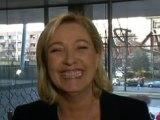 Marine Le Pen chante Dalida et s'en prend à BFMTV