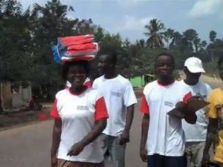 Ghana, Humjibre: Bednet distribution