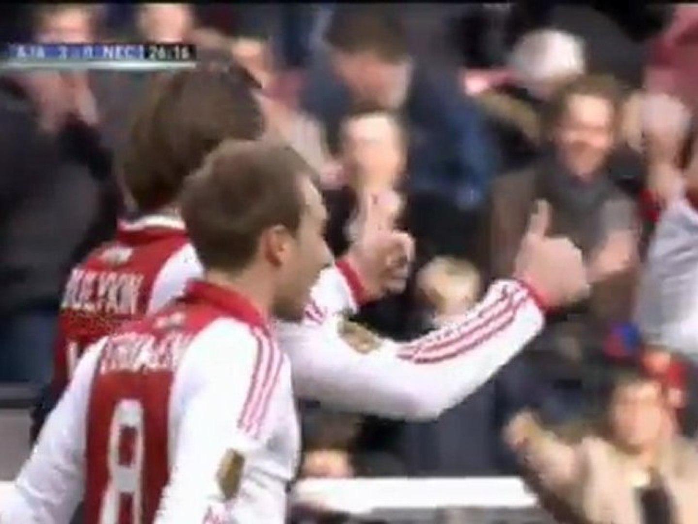 Pays-Bas - Ajax Amsterdam/NEC 4-1