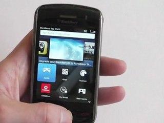 BlackBerry Storm Retro Test / Review HD Deutsch / German 9500