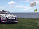Hyundai Veloster Rally Golf Cart and Rhys Millen
