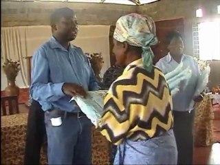 Zambia, Kapiri Mposhi: Bednet distribution