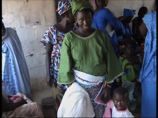 Gambia, Central River Division: Bednet distribution