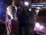 Paris Hilton Stops Traffic in West Hollywood