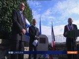 """Inauguration de square des """"Justes parmi les Nations"""" à La Celle Dunoise"""