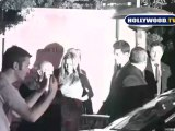 Jennifer Aniston and John Mayer Wave At Their Fans Outside Oscars After Party