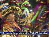 Carnaval de Rio: premiers défilés des écoles de samba