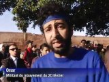 Maroc: le Mouvement du 20 février fête son premier anniversaire