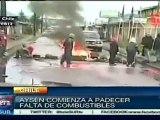 Siguen manifestaciones en Aysén, Chile