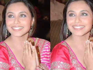 Rani Will be singing a song in don