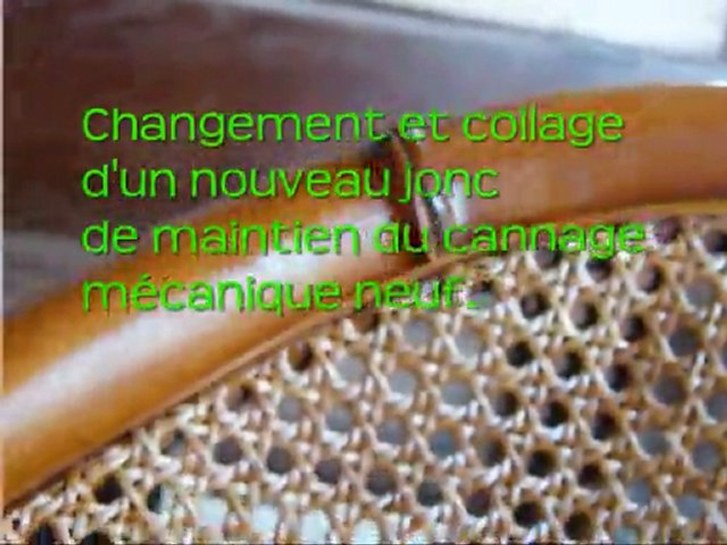 Cannage de chaise leroy merlin