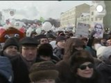 Medvedev hosts Russian protest leaders