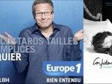 """Laurent Ruquier et Christophe Beaugrand parle du livre photos """"Confidences d'artistes raconte moi ton lit"""" dans l' emission """"On va s'gener"""" sur Europe1."""