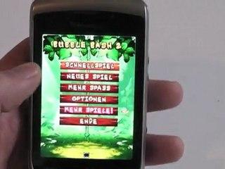 BlackBerry Torch 2 9810 Gaming Test / Review HD Deutsch / German