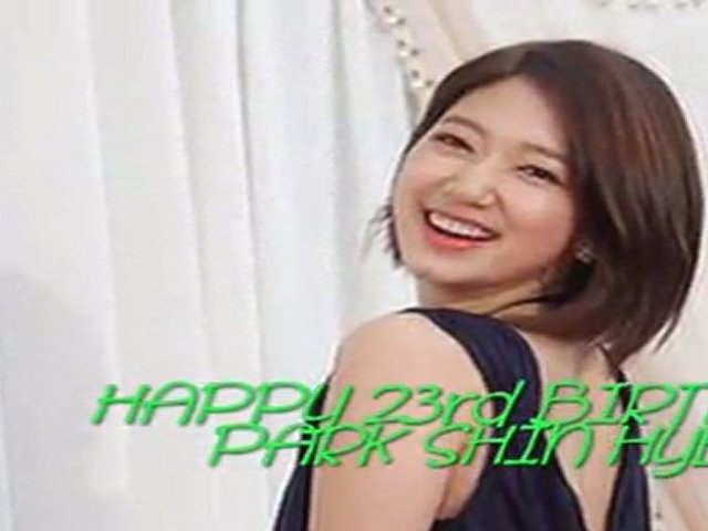 [FMV] Happy Birthday Shin Hye: This What Makes You Beautiful!