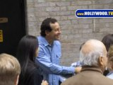 Woody Allen, Steve Guttenberg and Patricia O'Connell Catch Some Theatre!
