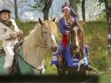 Défilé de l'Europe des Cavaliers des Hautes-Terres Tence Haute-Loire