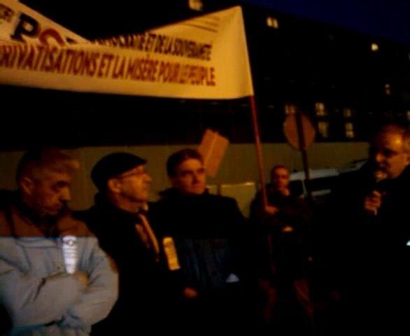 rassemblement POI  21 Fevrier!Pour briser le mur du silence qui se fait autour d'un vote qui placerait les peuples d'Europe sous la dictature de l'Union européenne et du FMI;