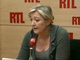 """Marine Le Pen, candidate du Front National à la Présidentielle : """"L'UMP se réjouit que je peine à obtenir mes parrainages"""""""