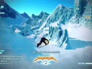 Region Gameplay - Antartica de SSX