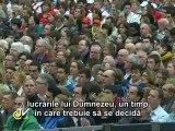 Benedict al XVI-lea: Biserică, pustiul se poate transforma în har