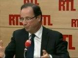 """EXCLU - François Hollande, candidat socialiste à la présidentielle, sur RTL : """"Nicolas Sarkozy propose un marché de dupes sur le travail des profs"""""""