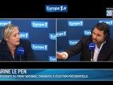 """Marine Le Pen : """"une accusation grave"""" d'Audrey Pulvar"""