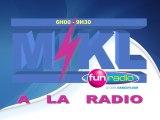 Gagner un écran plat toutes les heures - Novembre 2011 - Mikl à la radio Fun Radio Belgique