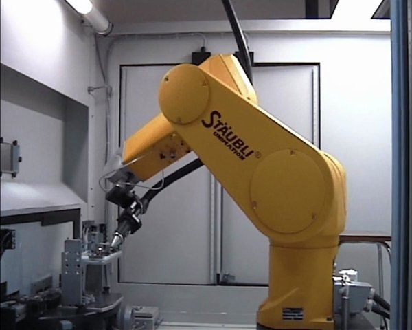 Robot de soudage laser