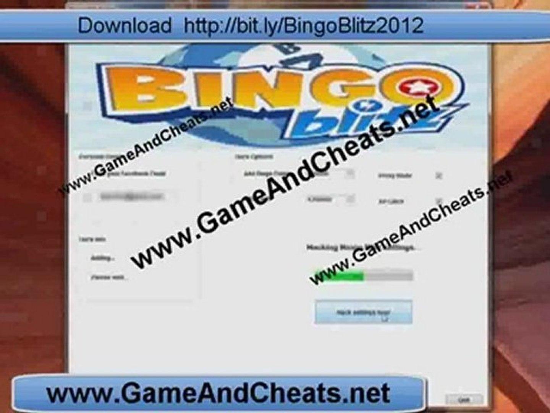 Update Bingo Blitz CheatHack Facebook 2012