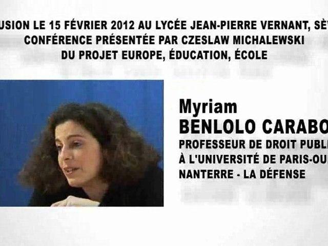 Les relations internationales et le droit  (2e partie), Myriam BENLOLO CARABOT