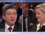 Mélenchon - Le Pen : le débat d'un non débat en 3 minutes