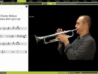 Cours de trompette avec Vincent Payen