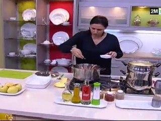 Choumicha - Côtes Agneau aux pommes de terre et fruits secs