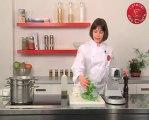 Recette de cannelloni de fromage de chèvre frais et pesto d'épinards