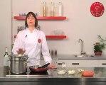 Recette de linguine sauce tomate fraîche à l'origan, mozzarella et gambas rôties