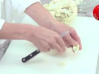 Technique de cuisine : Préparer un chou fleur